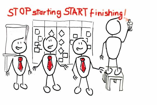 Stop Starting Start Finishing