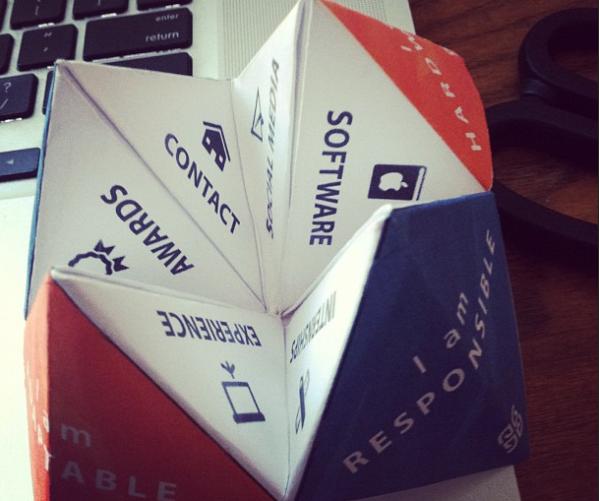 instagram-origami-resume